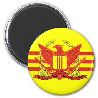 Republic of South Vietnam Military Forces Flag Magnet