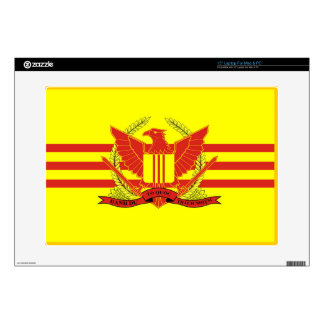 Republic of South Vietnam Military Forces Flag Skins For Laptops