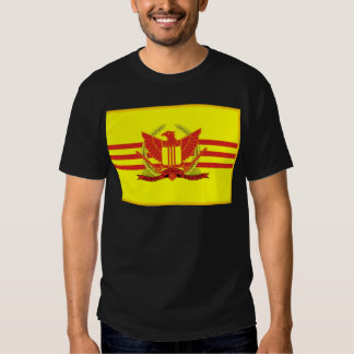 Republic of South Vietnam Military Forces Flag T Shirt