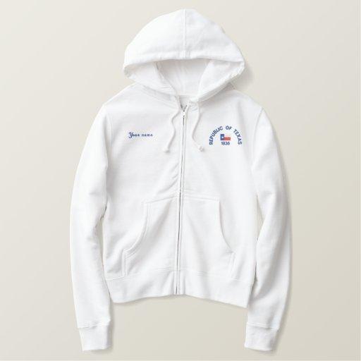 Republic of Texas 1836 Embroidered Sweatshirt