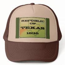 Republic Of Texas 1836 Trucker Hat 001EDL011515