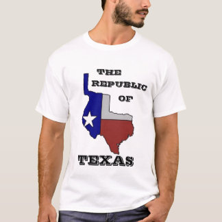 Republic Of Texas - Customized T-Shirt