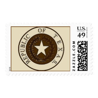 Republic of Texas Postage Stamps
