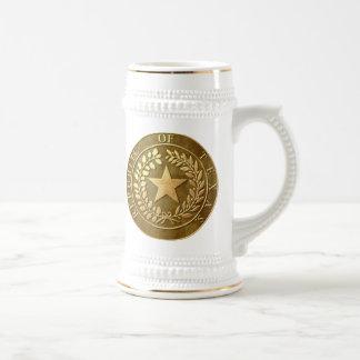 Republic of Texas Seal Beer Stein
