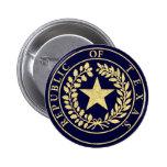 Republic of Texas Seal Button