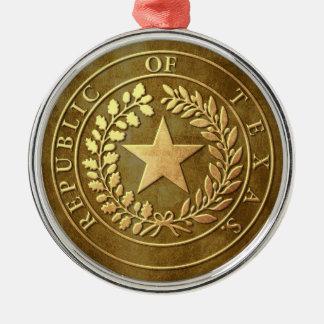 Republic of Texas Seal Christmas Ornament