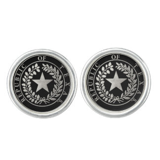 Republic of Texas Seal Cufflinks