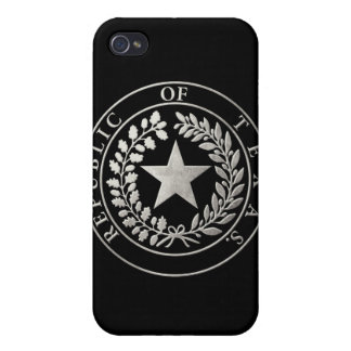 Republic of Texas Seal Cover For iPhone 4