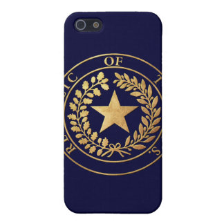 Republic of Texas Seal iPhone SE/5/5s Cover