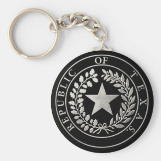 Republic of Texas Seal Keychain