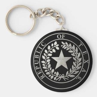 Republic of Texas Seal Keychain
