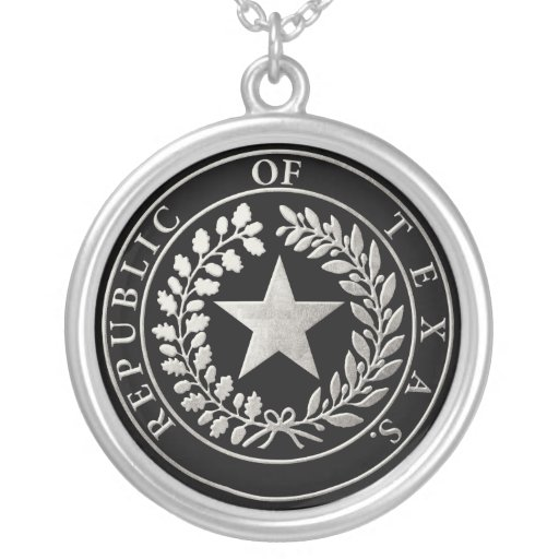 Republic of Texas Seal Jewelry