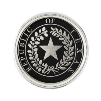 Republic of Texas Seal Pin