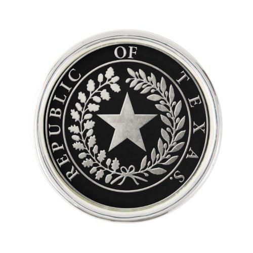Republic of Texas Seal Pin