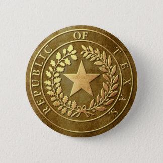 Republic of Texas Seal Pinback Button
