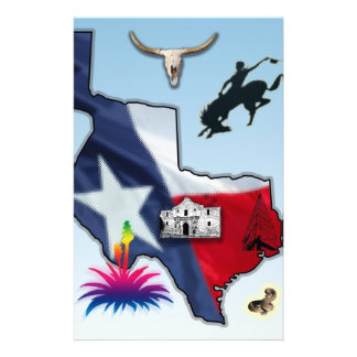Republic of Texas Stationery Design