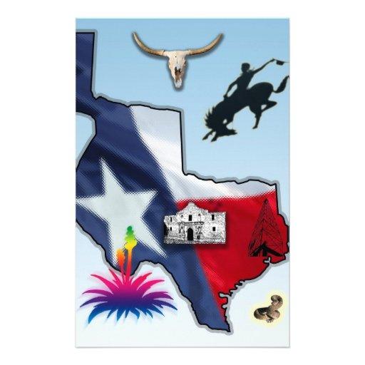 Republic of Texas Stationery Design