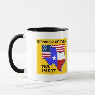 Republic of Texas Tea Party - Gold Mug