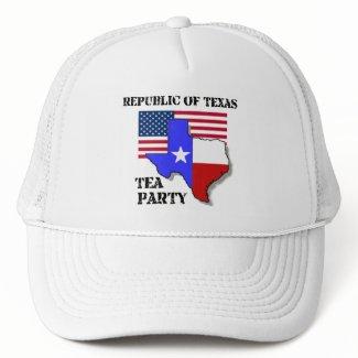 Republic of Texas Tea Party hat