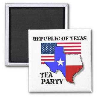 Republic of Texas Tea Party Magnet