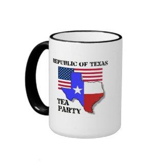 Republic of Texas Tea Party mug