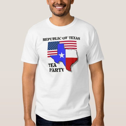 Republic of Texas Tea Party Tee Shirt
