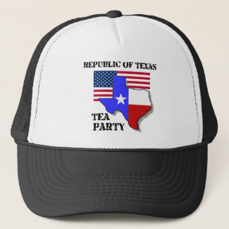 Republic of Texas Tea Party Trucker Hat