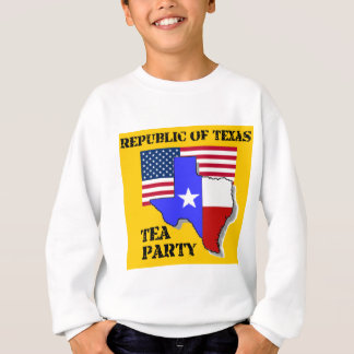 Republic of Texas Tea Party-yellow Sweatshirt