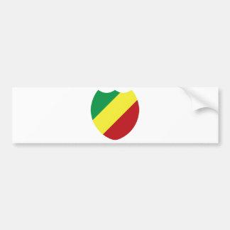 Republic of the Congo Bumper Sticker
