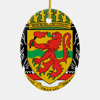 Republic of the Congo Coat of Arms Ornament