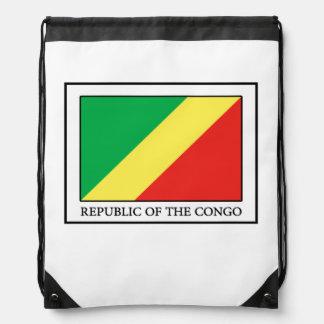 Republic of the Congo Drawstring Bag