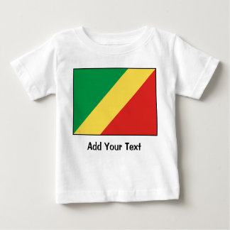 Republic of the Congo Flag Baby T-Shirt