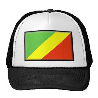Republic of the Congo Flag Hats