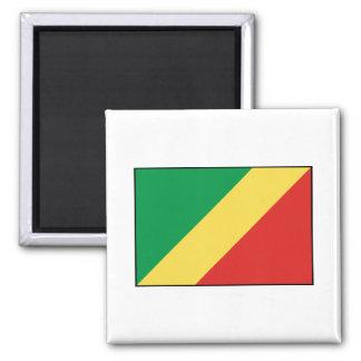 Republic of the Congo Flag Refrigerator Magnet