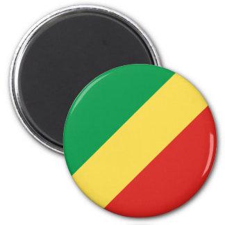 Republic of the Congo Flag Magnet