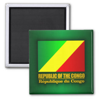 Republic of the Congo Flag Magnet