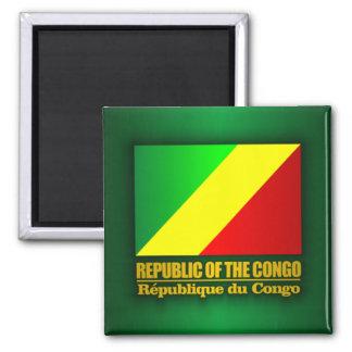 Republic of the Congo Flag Fridge Magnets