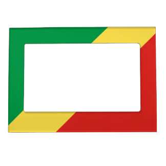 Republic of the Congo Flag Magnetic Frame