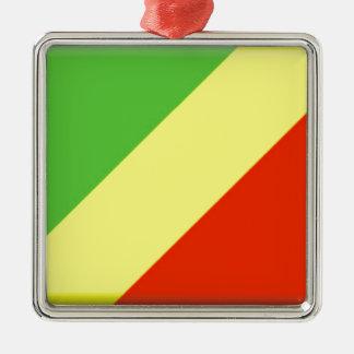Republic of the Congo Flag Christmas Ornaments