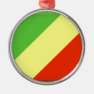 Republic of the Congo Flag Ornament