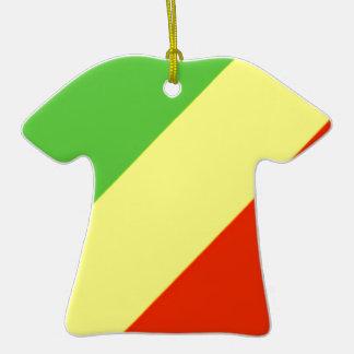 Republic of the Congo Flag Christmas Tree Ornaments