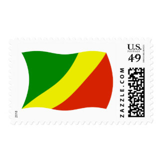 Republic of the Congo Flag Stamps