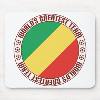 Republic of the Congo Greatest Team Mouse Pad