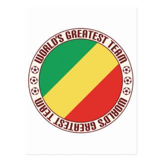 Republic of the Congo Greatest Team Postcard