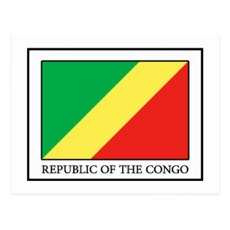 Republic of the Congo Postcard