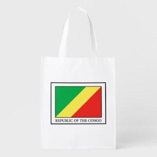 Republic of the Congo Reusable Grocery Bag