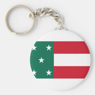 Republic Of Yucatan, Mexico flag Keychain