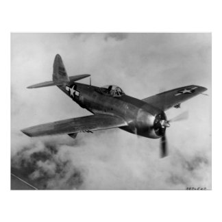 Republic P-47 Thunderbolt Posters