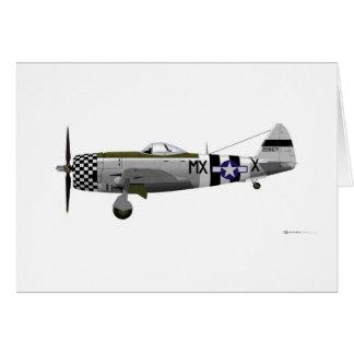 Republic P-47D Thunderbolt Card