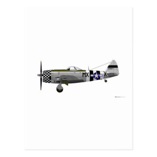 Republic P-47D Thunderbolt Postcards